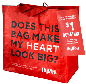 "HyVee's ""My Heart"" Reusable Bags"
